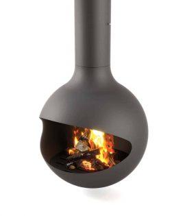 wood burning hanging stove
