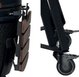 leg design image for kamado bbq