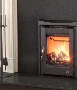 Henley Muckross Insert Fires lighting in fireplace