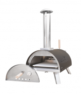 Naples Pizza Oven Tabletop side view