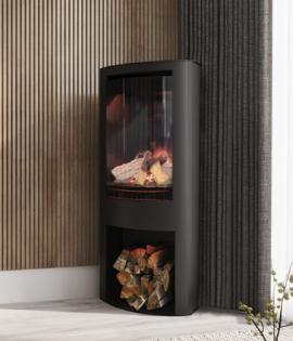 electric stove in corner